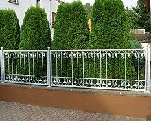 Schmiedeeisen Metallzaun Gartenzaun