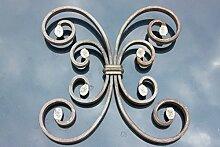 Schmiedeeisen Ornament für z.B. Geländer, Fenstergitter usw. aus Stahl Eisen geschmiedet #952