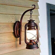 Schmiedeeisen Wand Lampe Balkon Flur Flur Treppe