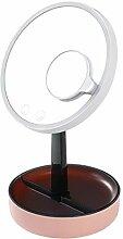 Schminkspiegel- Schminkspiegel mit Lampe Desktop