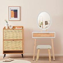 Schminktisch LED-Beleuchtung Kosmetiktisch mit