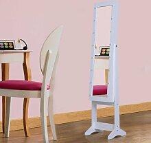 Schmuckschrank Celesse mit Spiegel