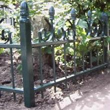 Schmuckzaun Schmiedeeisen Gartenzaun
