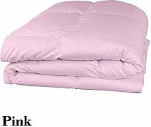 Schmusetuch–1Stück Faser Füllen 300gsm 550tc Italienisches Finish Pink Farbe uk-double Größe 100% ägyptische Baumwolle–Durch Paradies Overseas