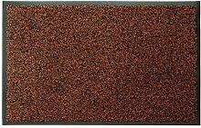 Schmutzfangmatte Fußmatte FLEXI Bronze/Schwarz