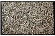 Schmutzfangmatte Fußmatte FLEXI Grau/Beige 60x90