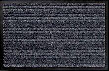 Schmutzfangmatte grau - 80 cm x 180 cm - Fußmatte