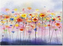 Schmutzfangmatte Pflanze Blumen Aquarell Kunst