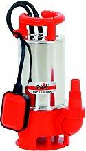 Schmutzwasser Edelstahl Tauchpumpe TSP 1100 Inox