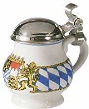 Schnapsbecher mit Deckel 0, 04ltr. COMPACT BAYERN