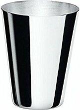 Schnapsbecher Pinnchen Pinneken Stamperl 4,5 cm Silber Plated versilbert in Top verarbeitung