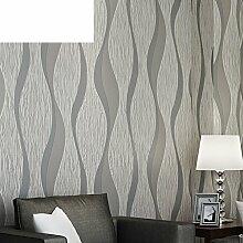 Schnee Streifen Tapete/Moderne minimalistische3D