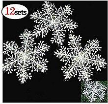 Schneeflocke Weihnachtsschnee Dekoration 11cm