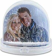 Schneekugel mit eigenem Foto, 9x8cm Individuelle
