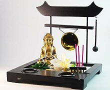 Schneemann-Versand Großer Zen Garten Buddha