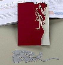 Schneide-Schablone DIY Messer Rändelmaschine