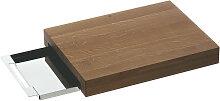 SCHNEIDEBRETT Holz, Metall