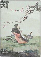 Schneidebrett Sat Under the Cherry Tree by Jin