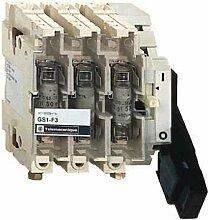 Schneider GS1QQD3 Gesicherter Trennschalter-Sockel GS1 3p 3 F, DIN, 400A