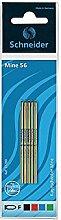 Schneider Kugelschreiberminen Vierfarbstift 56 (20