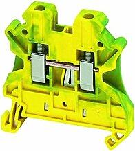 Schneider NSYTRR22PE Linergy Erdungsklemme, 2, 5mm², Eine Ebene, 1x1, Feder, Grün-Gelb