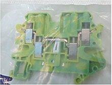 Schneider NSYTRV44PE Linergy Erdungsklemme, 4mm2, Eine Ebene, 2x2, Schraube, Grün-Gelb
