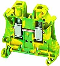 Schneider NSYTRV62PE Linergy Erdungsklemme, 6mm², Eine Ebene, 1x1, Schraube, Grün-Gelb