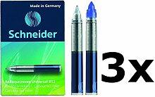 Schneider Rollerpatrone 852, M, königsblau, 5er