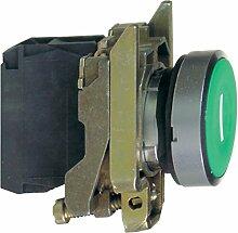 Schneider XB4BA3311 Drucktaster, flach, 1S,
