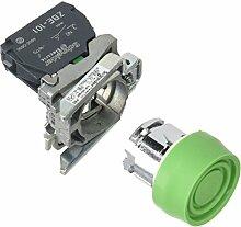Schneider XB4BPS31EX Drucktaster, grün