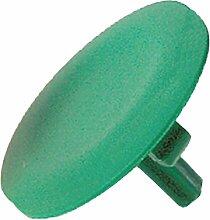Schneider ZBL3 Tastenschild, grün, Unbeschriftet für Runden Vorstehenden Drucktaster Ø22