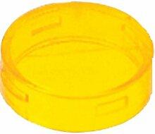 Schneider ZBV0153 Kalotte, gelb, für runde Meldeleuchte Durchmesser 22