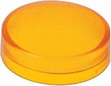 Schneider ZBW9153 Kalotte, gelb, für Leuchtdrucktaster Durchmesser 22