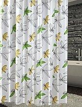 Schnell trocknender Duschvorhang Badezimmer Duschvorhang wasserdicht Schimmel-frei undurchsichtig hängende Vorhang Bad Duschvorhänge mit Haken Umweltschutzmaterial ( größe : 200*180cm )