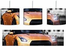 schneller Nissan schwarz/weiß inkl. Lampenfassung