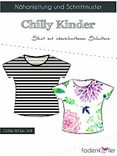 Schnittmuster Fadenkäfer Chilly - Kinder Shirt