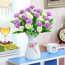 Schön Künstlicher Blumen-Satz Pfingstrosen