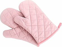 Schöne Baumwollofenhandschuh waschbar Handschuh , Single, Rosa