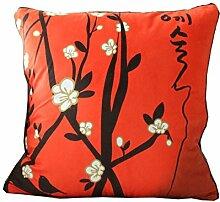 Schöne Blumenstempel Werfen Kissenbezug Sofa Kissenbezug 2 Pack,1