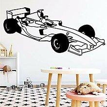 Schöne Formel Auto Wandkunst Aufkleber Moderne