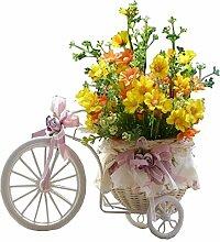Schöne Indoor Künstliche Blumen Keine Bewässerung Haus Decor Künstliche Gelb