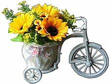 Schöne Indoor Künstliche Sonnenblume Kein Bewässerung Haus Künstliche Dekor Gelb