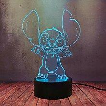Schöne MengXing Cartoon LED Stimmungslampe Happy