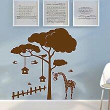 Schöne Natur-Landschaft-Wand-Kunst-Aufkleber Easy Peel & Stick Aufkleber-Farbe Wählen