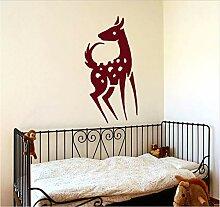 Schöne Tier Wandtattoo Deer Hause Aufkleber Für
