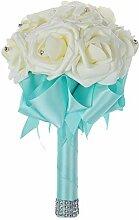 Schöner Hochzeitsstrauß Brautjungfer Blumen