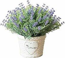 Schöner Innenkünstlicher Lavendel Kein Bewässerungshaus Künstliches Dekor