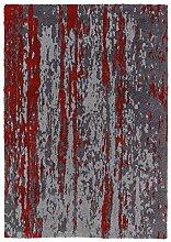 SCHÖNER WOHNEN Impression Teppich 80x150 grau-ro