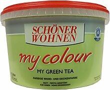 Schöner Wohnen Wandfarbe My Colour 5 Liter, Zarte Farben, Green Tea Ma