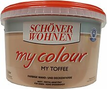 Schöner Wohnen Wandfarbe My Colour 5 Liter, Zarte Farben, Toffee Ma